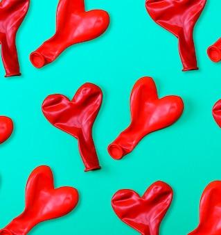 Palloncini di gomma rossa