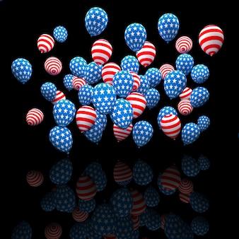 Palloncini per le elezioni usa
