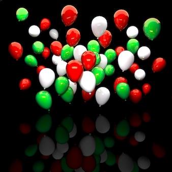 Palloncino di colori italiani