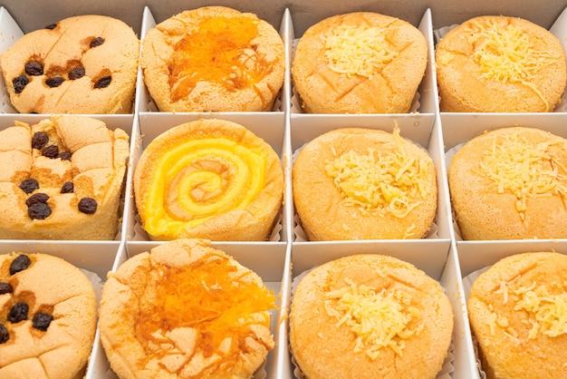 Pan di spagna in scatola