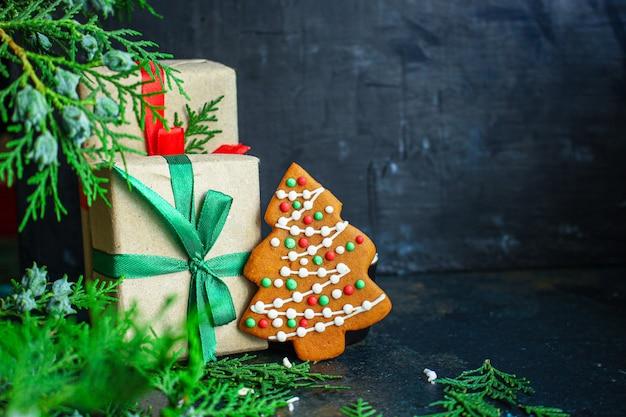 Pan di zenzero dolci dolci festivi di natale