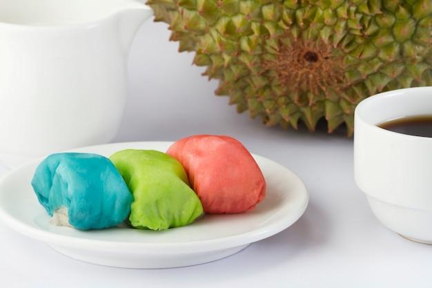 Pancake durian, la frutta tropicale è deliziosa e molto dolce