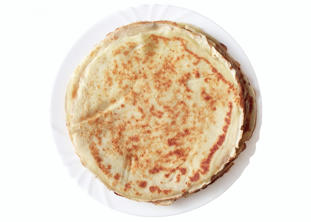 Pancakes su un piatto