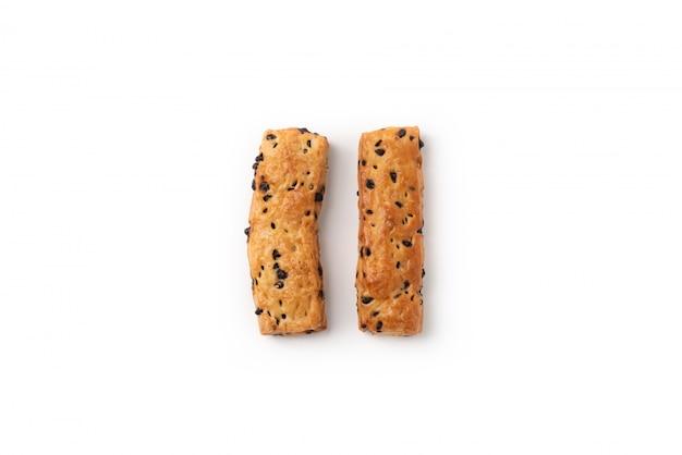 Pane al cioccolato su isolato