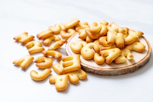 Pane biscotto alfabeto