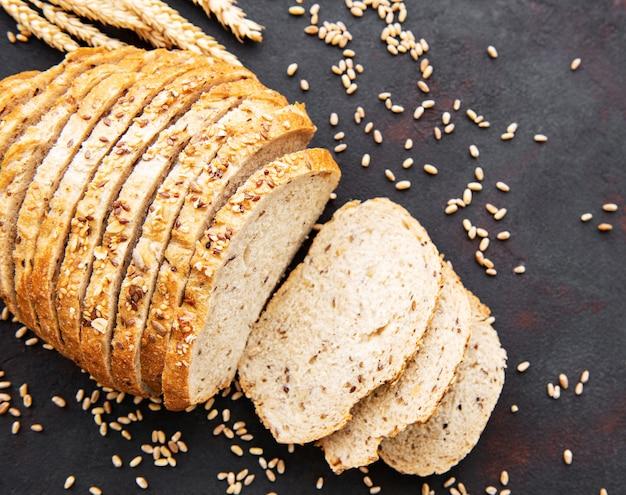 Pane con spighe di grano