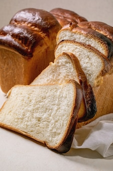 Pane di grano hokkaido