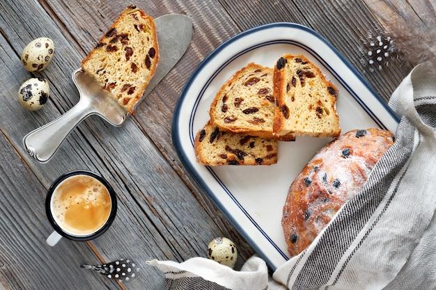 Pane di pasqua, dolce tradizionale tedesco