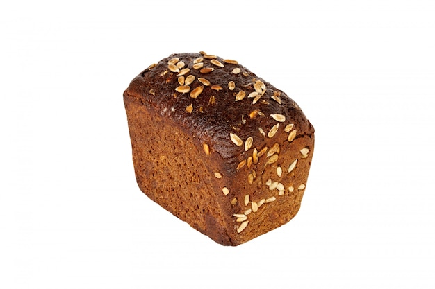 Pane di segale isolato