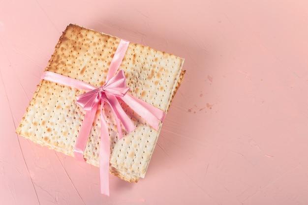 Pane pasquale di pasqua ebraico tradizionale