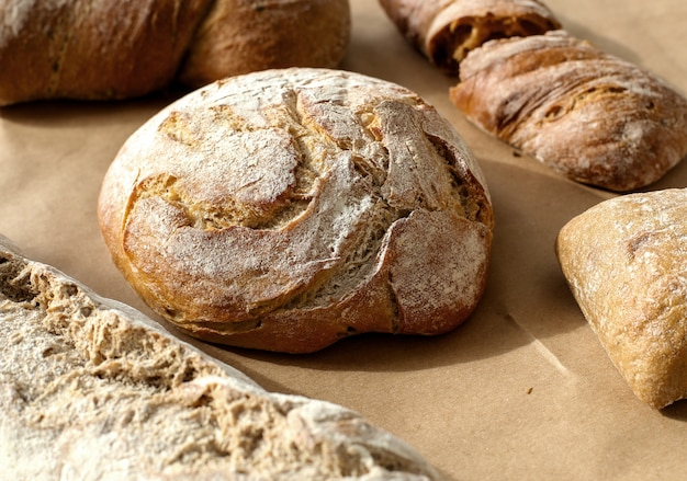 Pane su un tavolo
