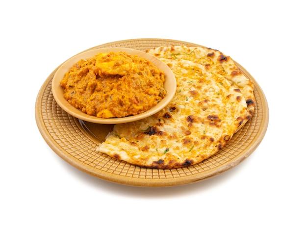 Paneer pasanda dolce e piccante speciale di cucina vegetariana indiana