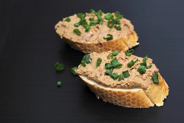 Panino con patè di fegato