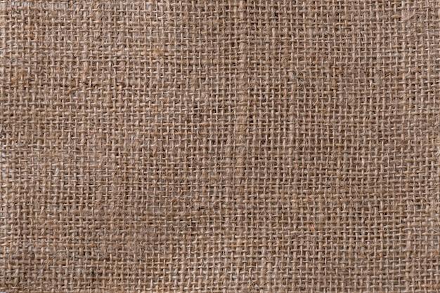 Panno di sacco con texture di sfondo