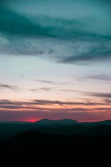 Panorama di un bel cielo