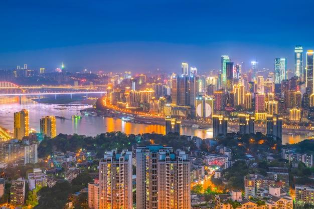 Panoramico distretto urbano business turismo urbano