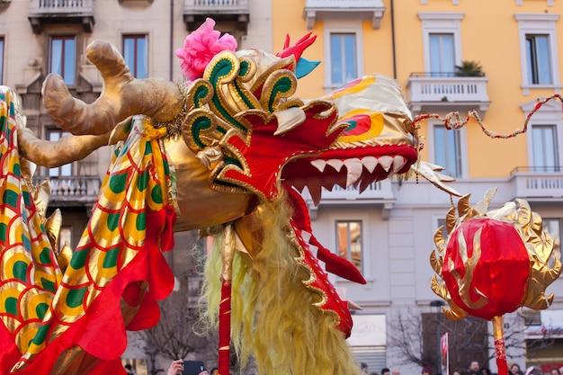 Parata cinese di capodanno a milano