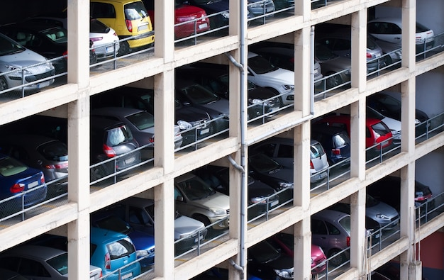 Parcheggio a più piani