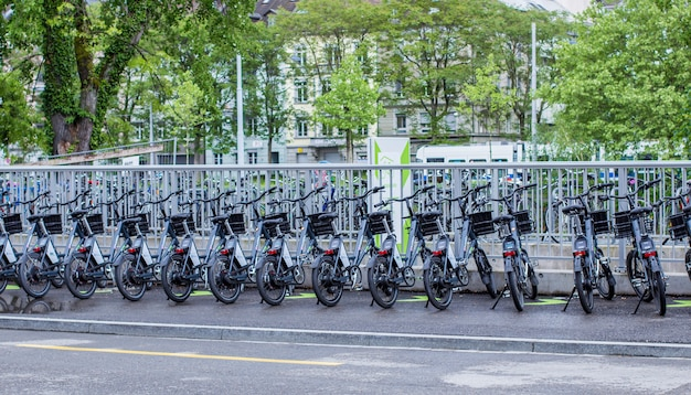 Parcheggio per biciclette a zurigo