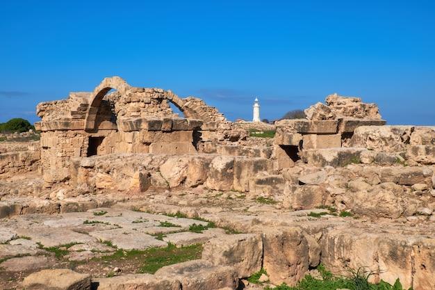 Parco archeologico di paphos a kato pafos in cipro