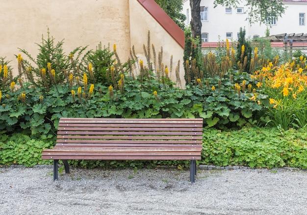Parco dei bernardine gardens nel centro di vilnius