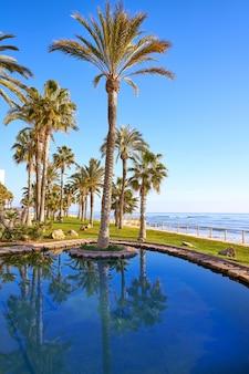 Parco della spiaggia di oropesa de mar a castellon