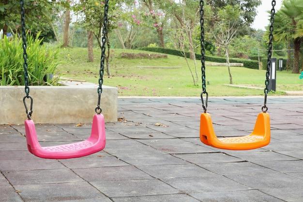 Parco giochi per bambini colorati