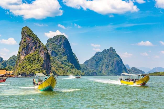 Parco nazionale di ao phang nga, thailandia