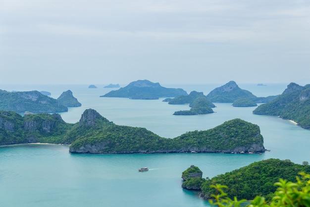 Parco nazionale di mu ko ang thong, isola di samui, tailandia