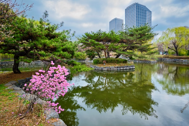 Parco yeouido a seoul, corea