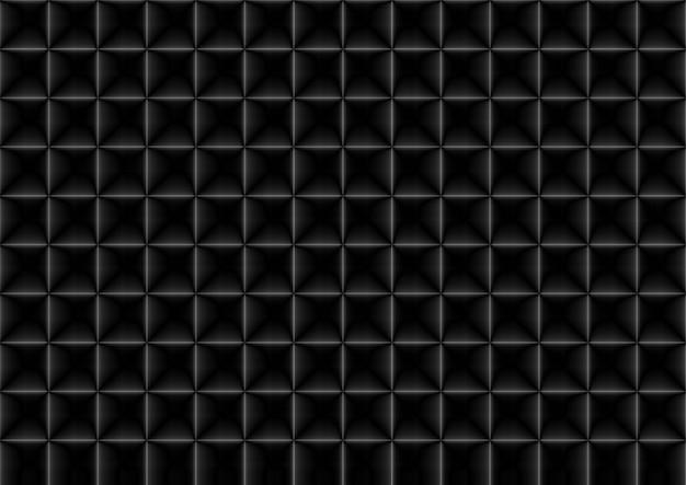 Parete della maglia del modello di forma quadrata di griglia bianca moderna senza cuciture