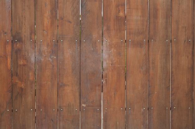 Parete di legno per testo e texture di sfondo