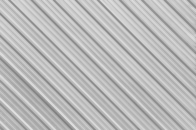 Parete in alluminio argento superficiale della fabbrica.