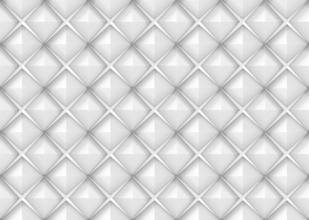 Parete quadrata diagonale moderna senza cuciture delle mattonelle di ceramica del modello di griglia