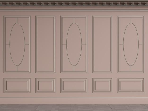 Pareti interne classiche con spazio di copia