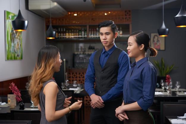 Parlare con i dipendenti