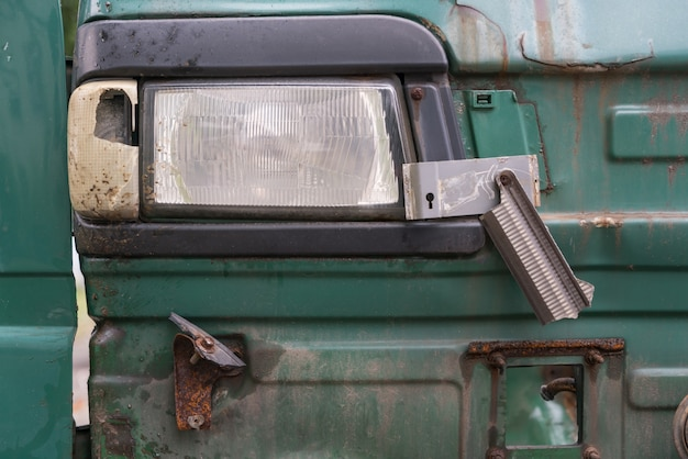 Parte anteriore, proiettore di rottamazione