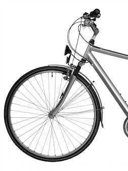 Parte della bici isolata (tracciato di ritaglio)