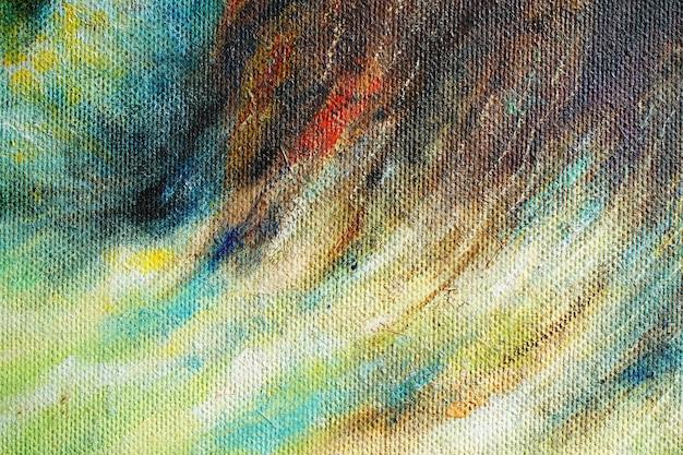 Parte della pittura a olio