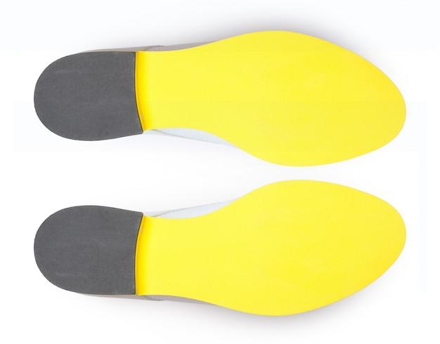 Parte inferiore delle scarpe, isolata.