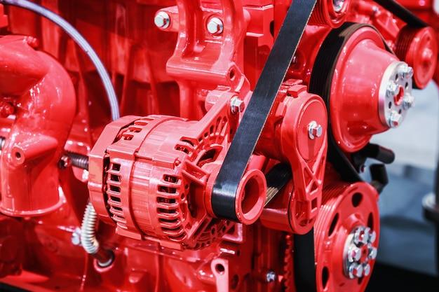 Parti del motore a combustione interna per macchine edili