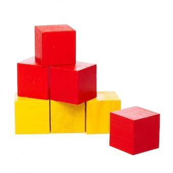 Particelle elementari di legno isolate