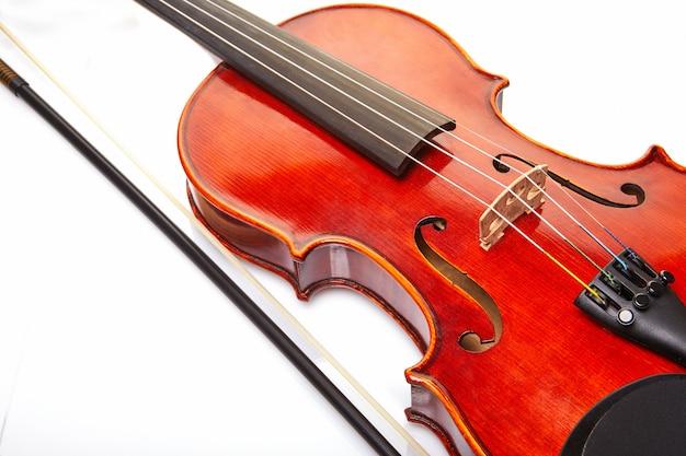 Particolare del violino
