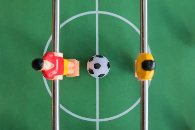 Partita di calcio balilla