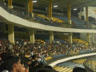 Partita di cricket in india
