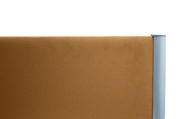 Partizione, colore marrone ufficio partizione isolato su sfondo bianco