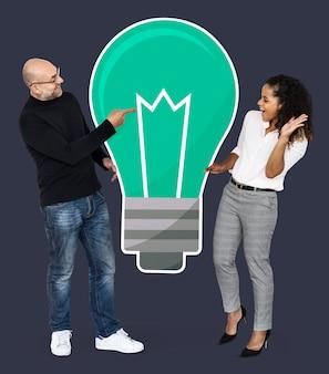 Partner creativi con idee brillanti