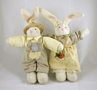 Pasqua coniglio bambole