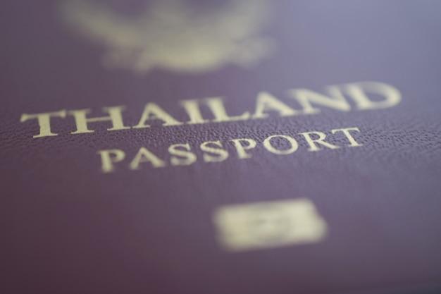Passaporto della tailandia