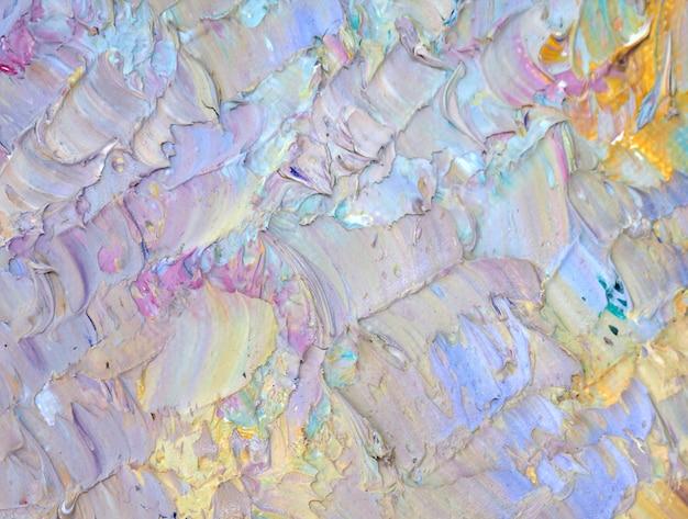 Passi a disegnare il fondo variopinto della pittura dell'estratto con struttura.